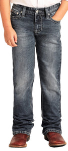 ROCK & ROLL BOY'S MEDIUM WASH REGULAR JEANS