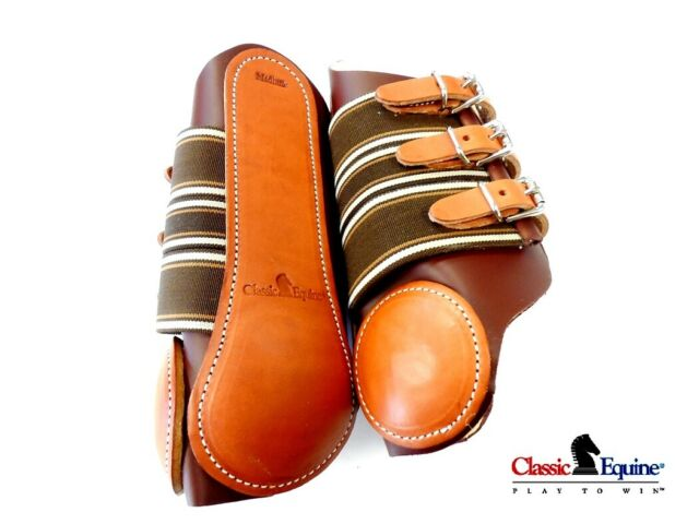 Classic Equine Leather Splint Horse Boots