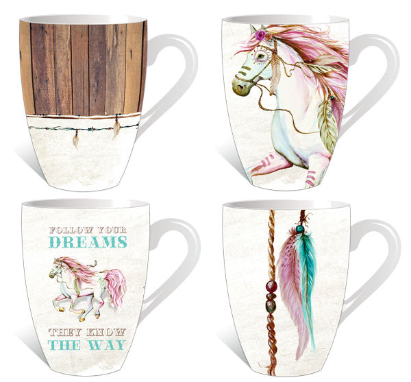 Country themed mugs