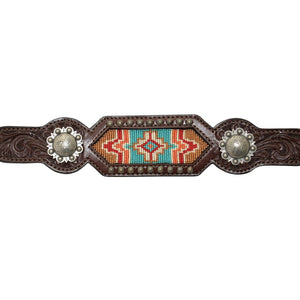 BREAST COLLAR WITH BEAD INLAY