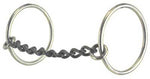 Reinsman medium ring chain mouth snaffle