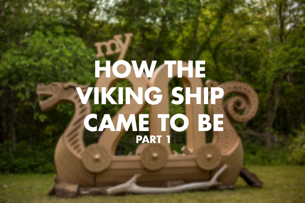 How the Viking ship came to be, Part 1.