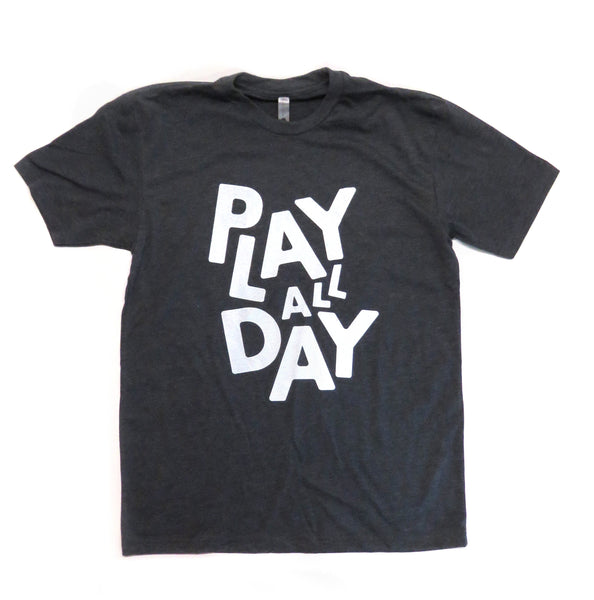 Charcoal Play All Day Tee
