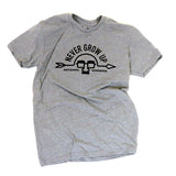 Heather Grey Logo Tee