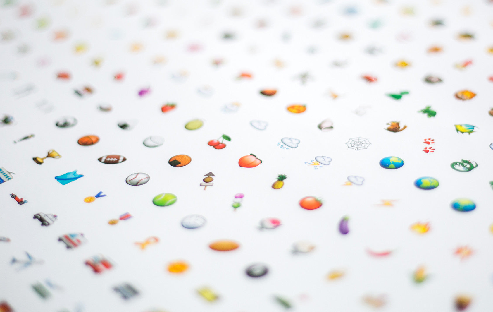 emoji poster print quality close-up