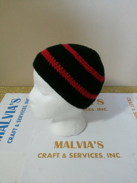 Malvia's multi-color crochet Beanie