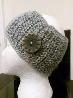 MALVIA's WIDE HEADBANDS with Button