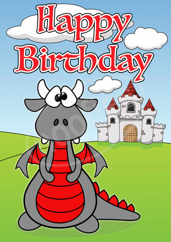 Birthday Dragon