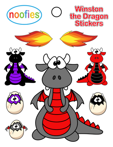 Dragon Stickers