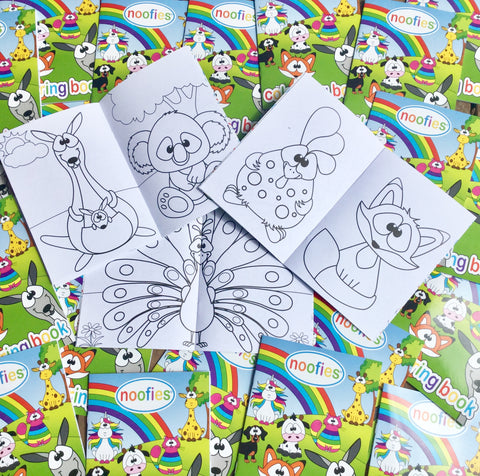Noofies Colouring in Book
