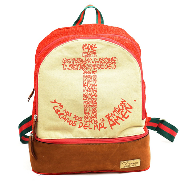 Lords prayer backpack