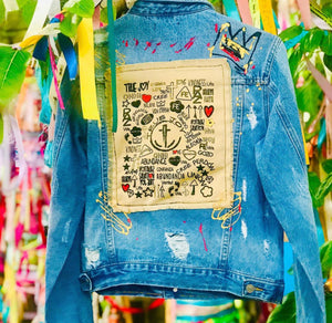 True Joy graffiti denim collection