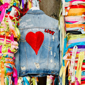 1 Corinthians 13:13 denim collection