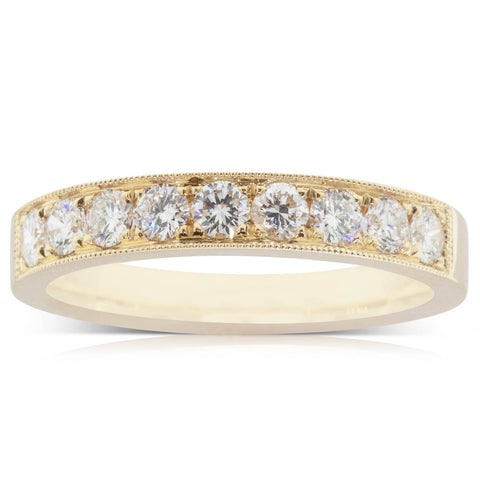 18ct Yellow Gold .87ct Diamond Orion Ring - Walker & Hall