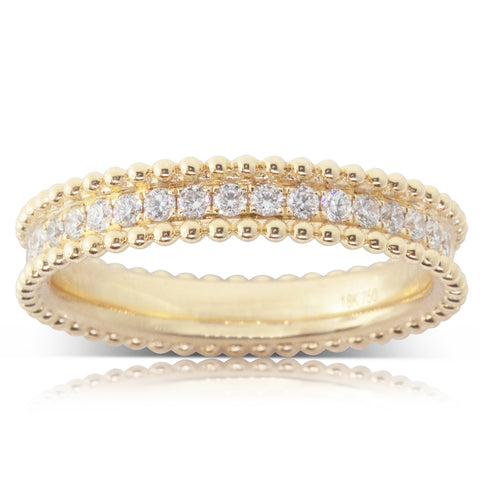 18ct Yellow Gold .60ct Diamond Ring - Walker & Hall