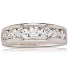 Deja Vu 18ct White Gold 1.02ct Diamond Eternity Ring - Walker & Hall