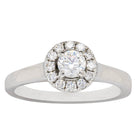 Deja Vu Platinum .30ct Diamond Ring - Walker & Hall