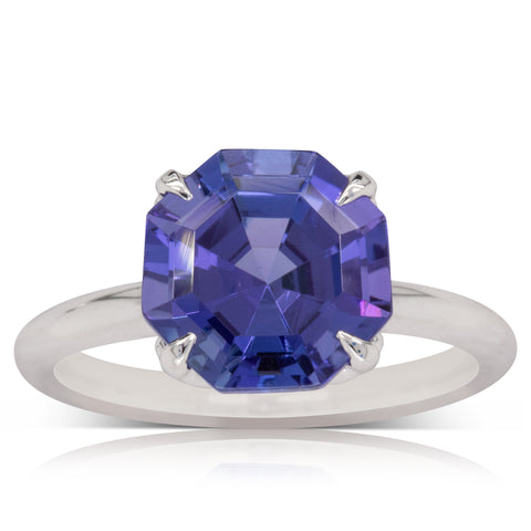18ct White Gold Tanzanite Octavia Ring