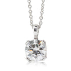 18ct White Gold 1.50ct Diamond Blossom Pendant - Walker & Hall