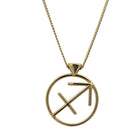 Karen Walker Sagittarius Necklace - 9ct Yellow Gold - Walker & Hall