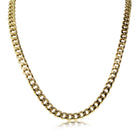 Deja Vu 9ct Yellow Gold Curb Necklace - Walker & Hall