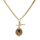 Deja Vu 9ct Yellow Gold Fob Chain - Walker & Hall