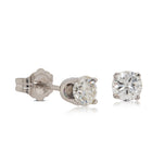 Deja Vu 14ct White Gold .64ct Diamond Stud Earrings - Walker & Hall