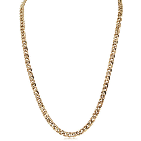 Deja Vu 9ct Yellow Gold Curb Link Chain - Walker & Hall