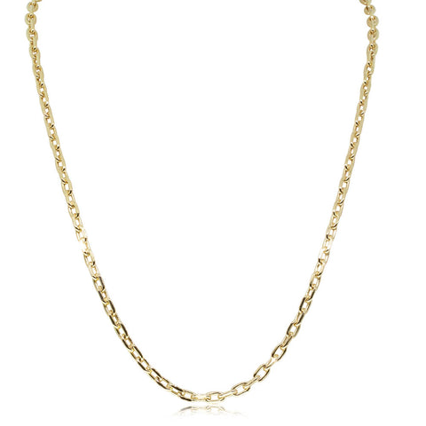 9ct Yellow Gold Chain Link Chain - 50cm