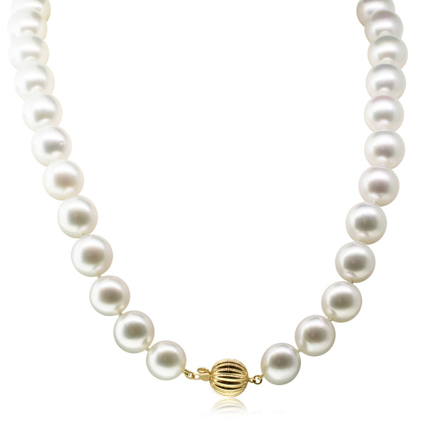 18ct Yellow Gold South Sea Pearl Strand Necklace - Walker & Hall