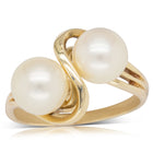 Deja Vu 14ct Yellow Gold Akoya Pearl Ring - Walker & Hall