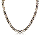 Sterling Silver Round Belcher Chain - 50cm - Walker & Hall