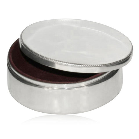 Pewter Jewellery Box - Walker & Hall