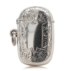 Vintage Sterling Silver Vesta Case - Walker & Hall
