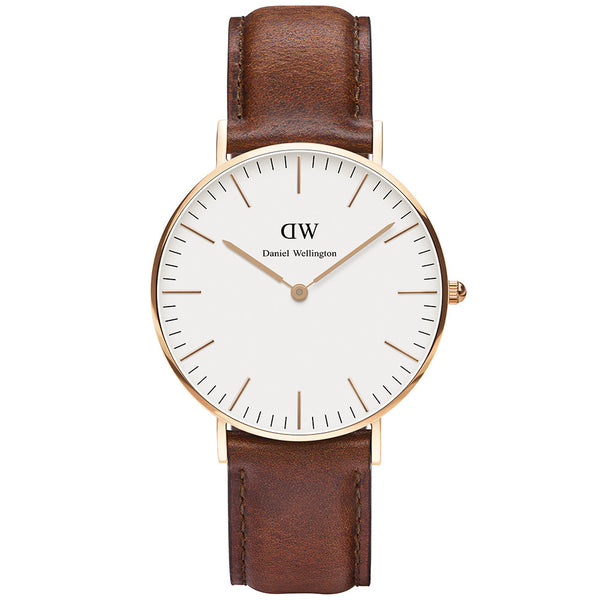 Daniel Wellington Classic St Mawes 36mm Watch - Walker & Hall