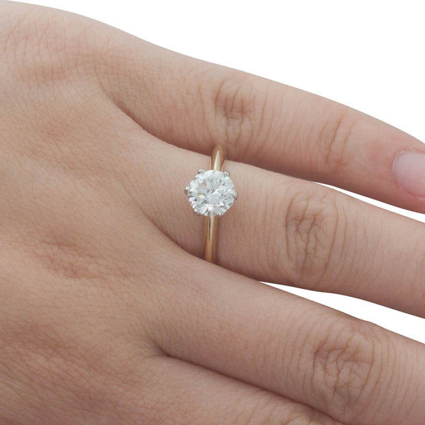 18ct Yellow Gold 1.50ct Diamond Cosmopolitan Ring - Walker & Hall