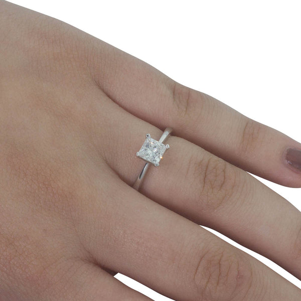 18ct White Gold .91ct Diamond Royale Ring - Walker & Hall