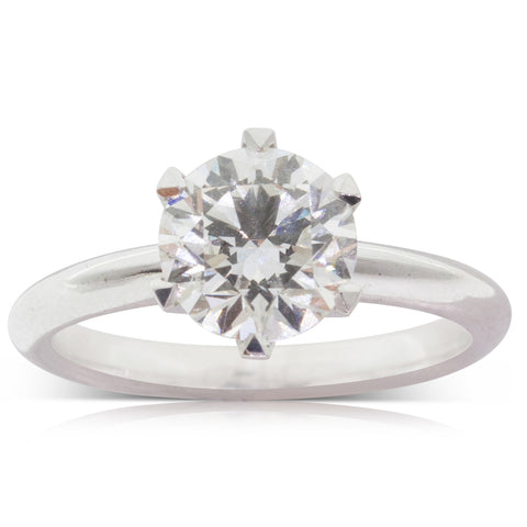 18ct White Gold 2.00ct Diamond Cosmopolitan Ring - Walker & Hall