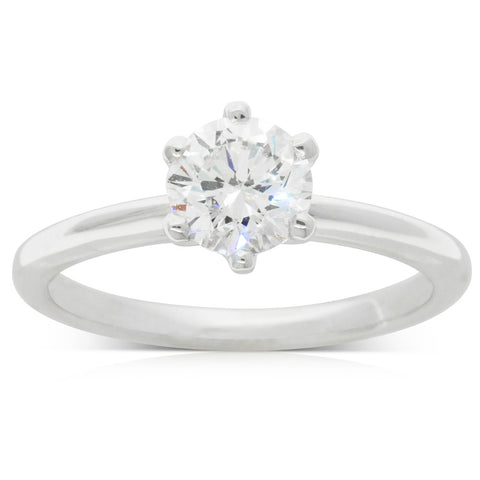18ct White Gold 1.04ct Diamond Cosmopolitan Ring - Walker & Hall