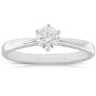 18ct White Gold .50ct Diamond Nova Ring - Walker & Hall