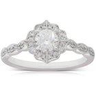 18ct White Gold .46ct Diamond Paramount Ring - Walker & Hall