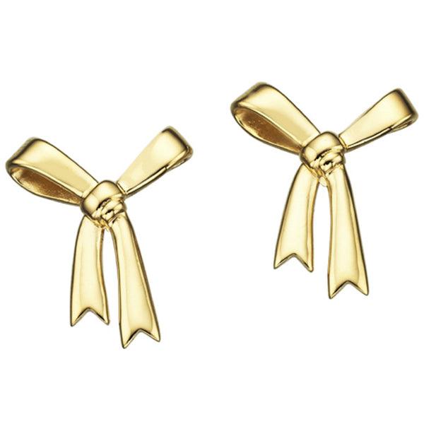 Karen Walker Bow Studs - 9ct Yellow Gold - Walker & Hall