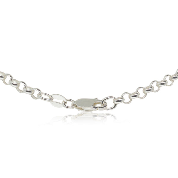 Sterling Silver Round Belcher Chain - Walker & Hall