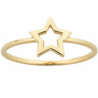 9ct Yellow Gold Karen Walker Mini Star Ring - Walker & Hall