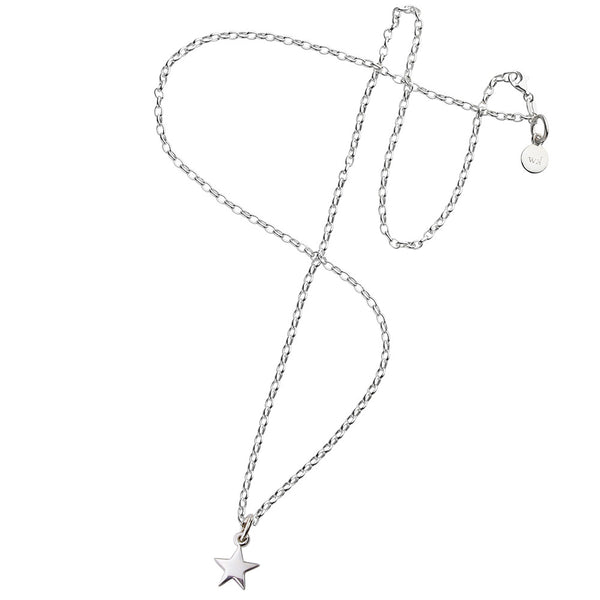 Karen Walker Star Necklace - Sterling Silver - Walker & Hall