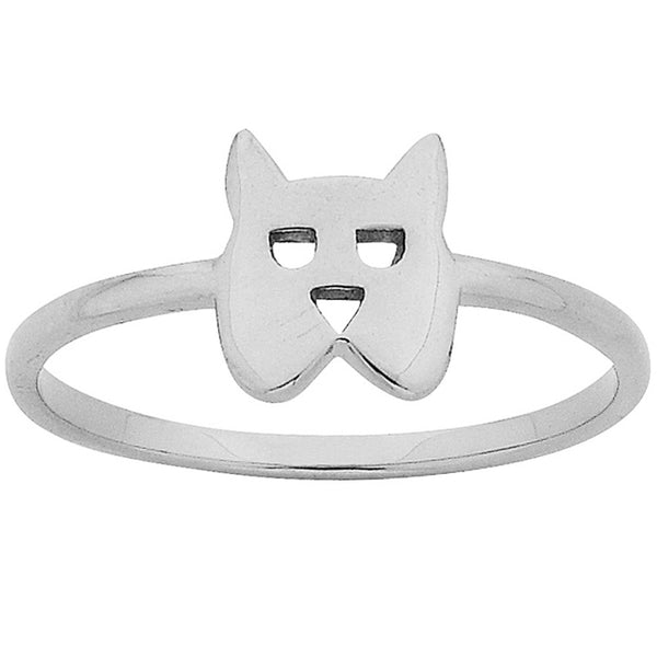Karen Walker Mini Dog Ring - Sterling Silver - Walker & Hall