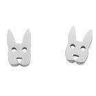 Karen Walker Rabbit Studs - Sterling Silver - Walker & Hall