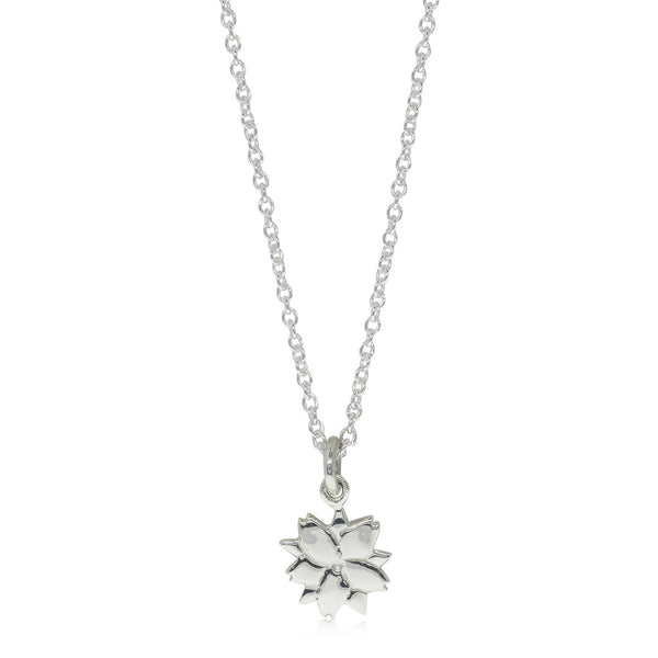 Meadowlark Cherry Blossom Charm Necklace - Sterling Silver