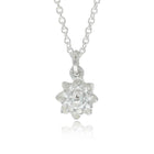 Meadowlark Protea Charm Necklace - Sterling Silver - Walker & Hall