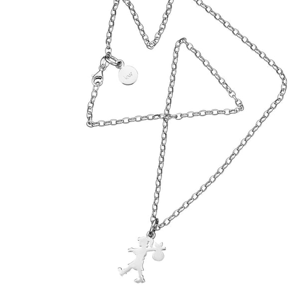 Karen Walker Runaway Girl - Sterling Silver - Walker & Hall